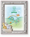 STERLING SILVER Picture Frame The ARK . Made in ITALY